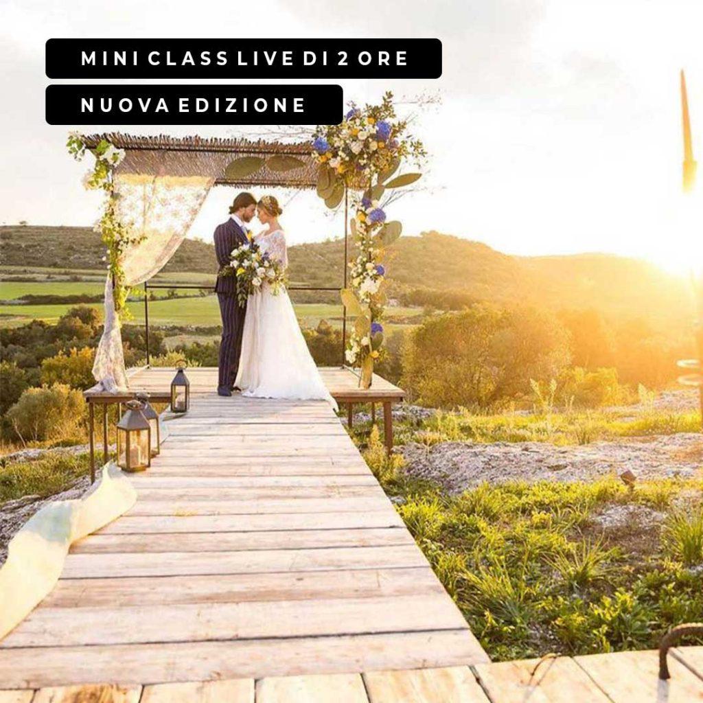 Corso Destination Wedding nuova edizione